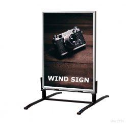 Tuuliteline Wind Sign - mainosteline tuulisille paikoille